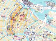 Амстердам, карта старого города