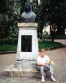 Tonya resting at San Jose Institute de Cultura
