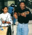 San Jose Costa Rica street musicians